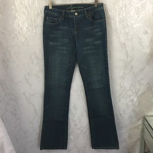 NEW bebe blue Sophie bootcut jeans size 26